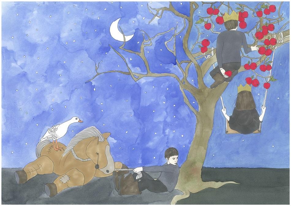 Pelin Kırca, Sivas Serisi 3 Sivas Series 3, 2017, Kağıt Üzerine Suluboya Watercolour on Paper, 30 x 42 cm